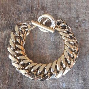 Authentic Vintage Givenchy Gold Bracelet
